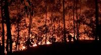 Hơn 10 giờ khống chế vụ cháy trên núi tại Đà Nẵng