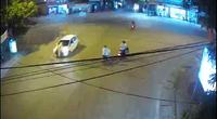 Tài xế lao xe hất CSGT lên nắp capô rồi bỏ chạy 3 km