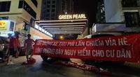 Lập chốt 'BOT' thu phí gửi xe cao, cư dân Green Pearl bức xúc