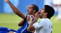 Chiellini ngưỡng mộ Suarez vì... vết cắn tại World Cup 2014