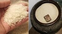 Đặt vật này dưới đáy hũ gạo để giữ chân Thần Tài