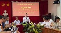 Bình Phước họp báo thông tin vụ ông Lương Hữu Phước nhảy lầu tử vong tại trụ sở TAND tỉnh
