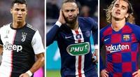 10 cầu thủ có tổng phí chuyển nhượng cao nhất thế giới: Ronaldo số 2, ai số 1?