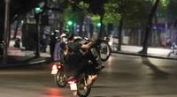 14 đối tượng bốc đầu, đua xe máy ở Hà Nội bị phạt tù