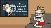"""Ảnh chế: Liverpool """"mừng rỡ"""" khi PSG giành cúp vô địch Ligue 1"""