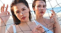 Huyền Lizzie và Phanh Lee tung bộ ảnh bikini kỷ niệm tình bạn