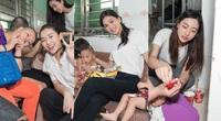 Lương Thuỳ Linh, Trần Tiểu Vy mặc giản dị xinh đẹp tặng quà cho trẻ em mồ côi ngày Quốc tế Thiếu nhi