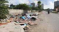 Nhếch nhác khó tin trên đại lộ mới 1.500 tỷ của Hà Nội