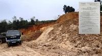 Phú Thọ: Phạt đối tượng khai thác khoáng sản trái phép hơn 400 triệu đồng