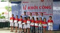 Thêm một điểm trường của Báo NTNN/Báo Điện tử Dân Việt đến với học sinh nghèo Nghệ An
