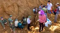 Quảng Nam: Tìm thấy hố chôn tập thể 17 liệt sĩ
