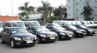 TT-Huế thông tin về việc sử dụng vượt định mức 125 xe công