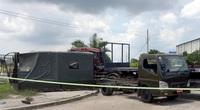 Xe đầu kéo tông xe biển số đỏ, 1 dân quân thiệt mạng