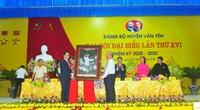 Thường trực Ban Bí thư Trần Quốc Vượng dự Đại hội điểm cấp huyện tại Yên Bái