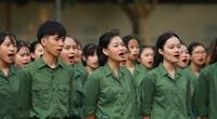 Sinh viên Học viện Nông nghiệp Việt Nam trải nghiệm kỳ học quân đội kỷ luật nhưng không khắc nghiệt