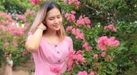 Choáng ngợp sắc hoa tuyệt đẹp của hàng cây tường vi 15 năm tuổi ở Hà Nội