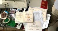 Làm giả hàng nghìn giấy tờ đất, bằng đại học