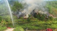 Nắng nóng gay gắt đe dọa cháy rừng: Kiểm lâm dùng biện pháp rắn để dập lửa