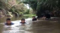 Cảnh sát ngâm mình dưới bùn, phá sới bạc giữa đầm lầy