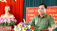 Ban Bí thư chuẩn y Thiếu tướng Nguyễn Hải Trung giữ chức vụ mới