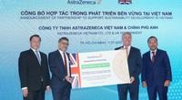 AstraZeneca đầu tư cải thiện môi trường và sức khỏe cộng đồng