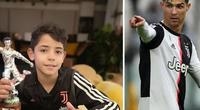 """Nghịch dại, con trai Ronaldo sắp bị cảnh sát """"hỏi thăm"""""""