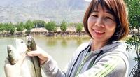 """Khánh Hòa: Cho tôm sú """"chung nhà"""" với cá đối, 2 con không """"cãi nhau"""" mà sống khỏe có ích"""