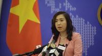 Người Phát ngôn đáp trả phát biểu về quyền lịch sử trên Biển Đông của người đồng cấp Trung Quốc