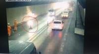 Truy tìm người phụ nữ chạy xe với tốc độ cao trong hầm Hải Vân