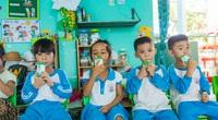 Sữa học đường đồng hành cùng trẻ em miền núi tỉnh Quảng Ngãi