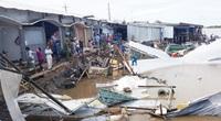 """Cà Mau: Sạt lở bờ sông liên tiếp, """"hà bá"""" nuốt nhà, thiệt hại tiền tỷ"""