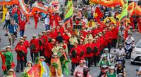 Người Hoa diễu hành mừng Tết Nguyên tiêu thành di sản