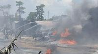 Thanh Hóa: Cháy lớn tại KCN Tây Bắc Ga
