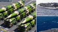 Báo TQ dọa có thể dễ dàng phóng tên lửa tiêu diệt hai tàu sân bay Mỹ ở Biển Đông