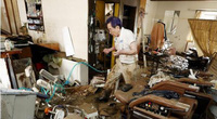"""50 người chết sau cơn lũ kinh hoàng, nhiều nơi tại Nhật Bản như """"bãi chiến trường"""""""