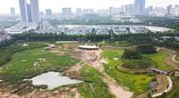 Công viên thiết kế theo phong cách sân golf cao cấp nằm im sau 4 năm động thổ