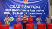 Trung ương Hội NDVN: Trao 1.500 bồn chứa nước cho nông dân 5 tỉnh bị ảnh hưởng bởi hạn, mặn và dịch Covid-19