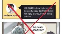 Phạt 15 triệu đồng với kẻ giả danh UBND quận phát tin nhắn yêu cầu người dân 'treo co' từ 30/4-3/5