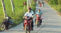 Học sinh nông thôn rất ít được học về luật an toàn giao thông
