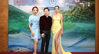 Hoa hậu Ngọc Diễm hội ngộ Dương Triệu Vũ tại Caravan thiện nguyện