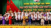 Đại hội Đảng bộ huyện Gia Bình (Bắc Ninh): Bà Nguyễn Thị Hà tái cử Bí thư Huyện ủy