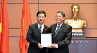 Công bố nghị quyết của Ủy ban Thường vụ Quốc hội về phê chuẩn nhân sự