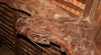 """Độc đáo """"nét chạm trổ phượng long"""" của ngôi đền cổ làng trung du Nghệ An"""