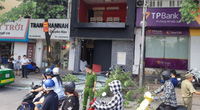 Nổ lớn tại phố Kim Mã, nhiều người thoát chết