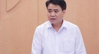 Bộ Chính trị tạm đình chỉ chức Phó Bí thư Thành ủy Hà Nội với ông Nguyễn Đức Chung