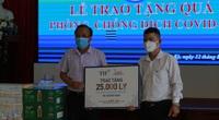 Tập đoàn TH trao 50.000 ly sữa tiếp sức cho phòng chống dịch Covid-19 tại Đà Nẵng, Quảng Nam