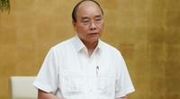 """Thủ tướng Nguyễn Xuân Phúc: """"Mua sắm thiết bị XN Covid -19, không tham nhũng không có gì phải ngại"""""""