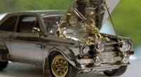 25 năm chế tạo chiếc Ford nhỏ bé từ vàng, bạc và kim cương