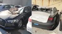 Tin xe (13/8): 500 xe Audi mới thành đống sắt vụn sau vụ nổ kinh hoàng