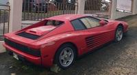 Siêu xe Ferrari bị chủ nhân bỏ rơi, nằm dầm sương dãi nắng suốt 17 năm